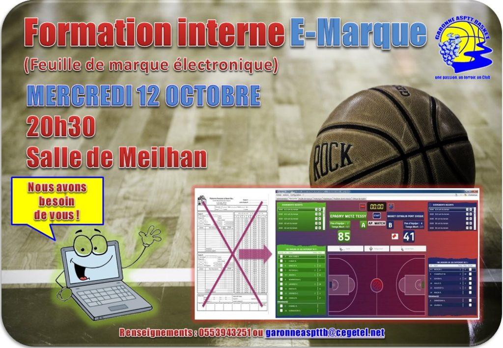 Affiche E-marque