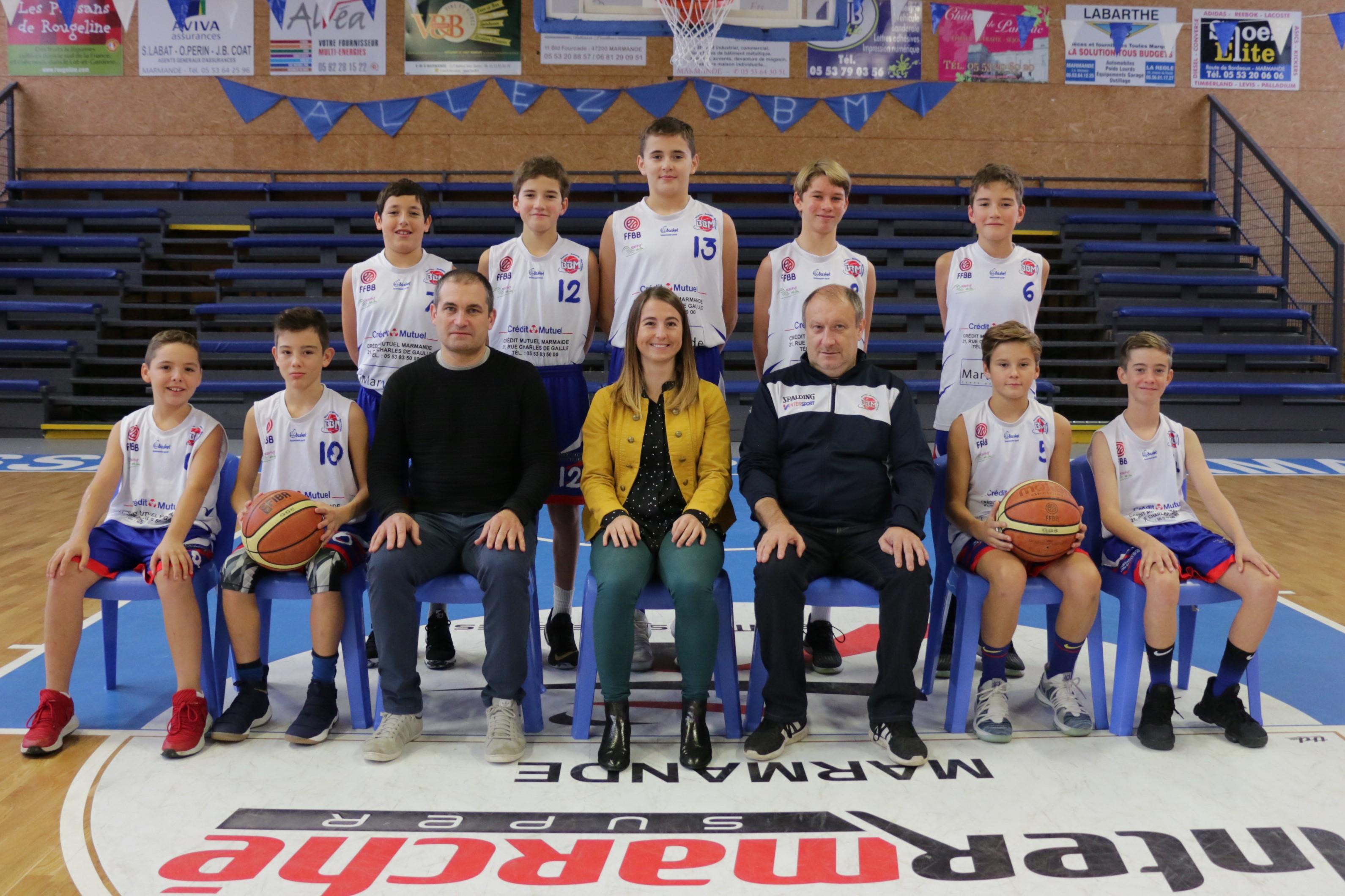 U13m Bbm Garonne Ctc Les Asptt Équipes Basket rodxBCe