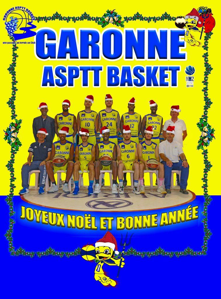 Actualites La Nm2 Vous Souhaite Joyeux Noel Garonne Asptt Basket
